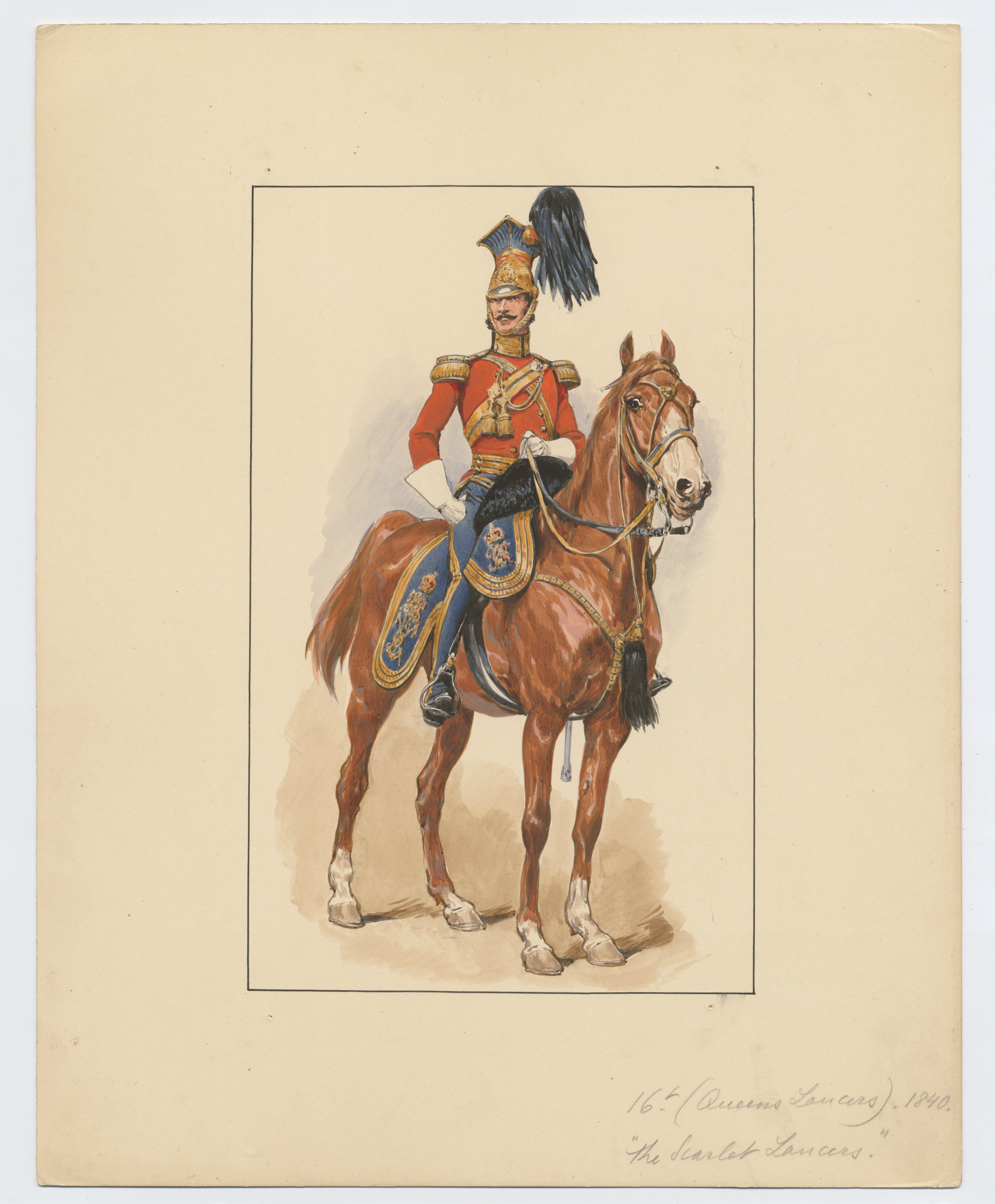Officer of the 16th Lancers