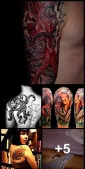 Photo of 55 Awesome Octopus Tattoo Designs | Schaufenster der Kunst #tattoosformenonback – 55 A …, #art #a …