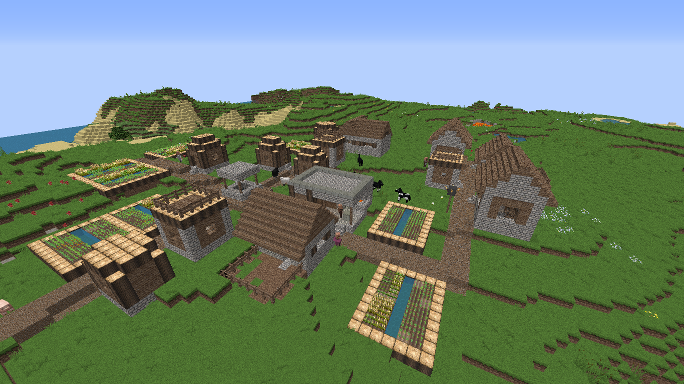 The 9 Best Minecraft Seeds With Villages  Cool minecraft seeds