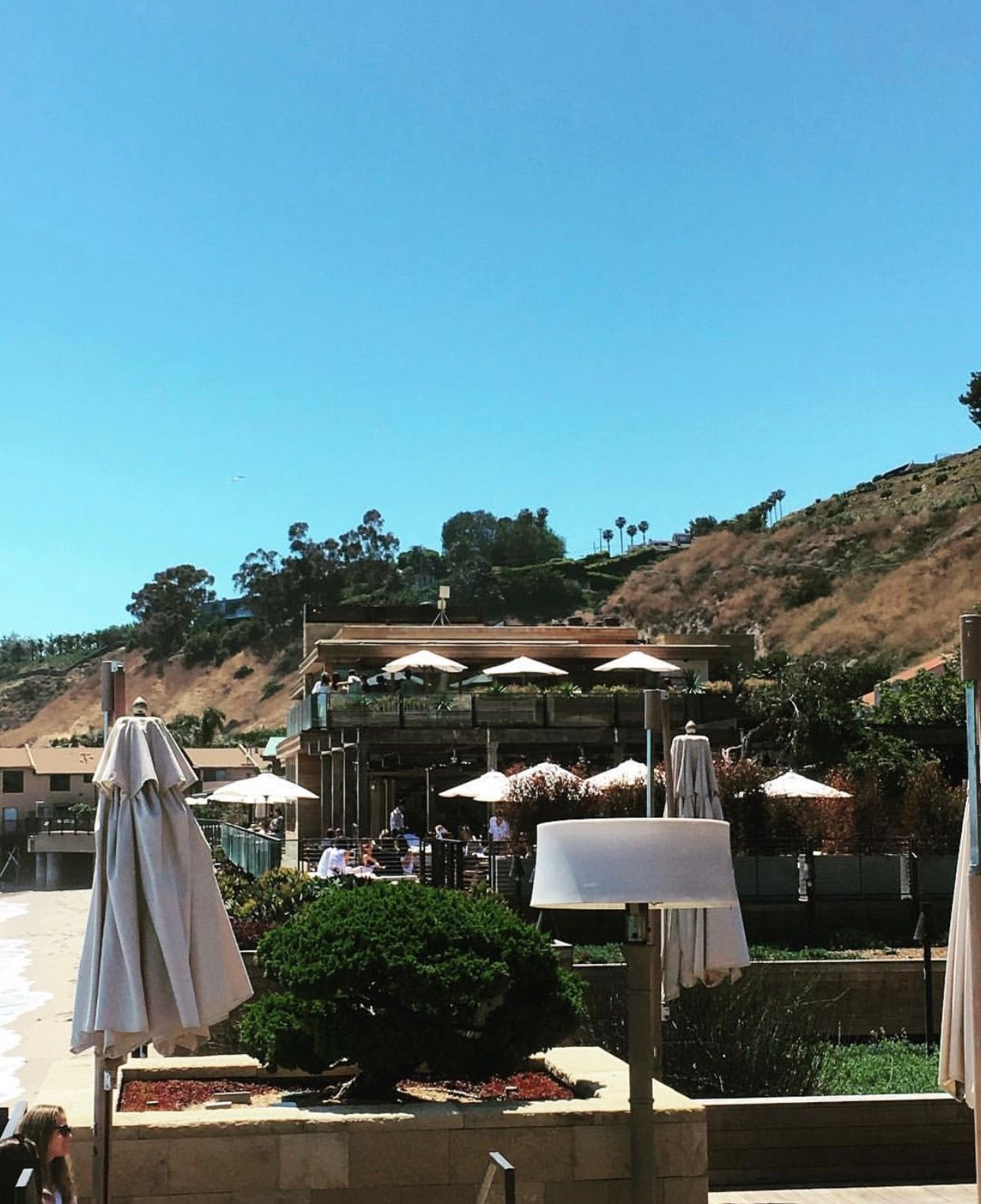 Kindle Living Caroline Heat Lamps In Sandstone At Nobu Malibu Patio Patio Heater Los