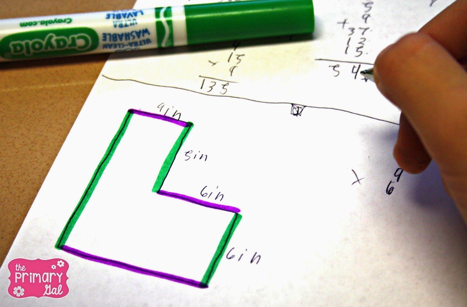 Finding Perimeter Amp Area Of Irregular Figures