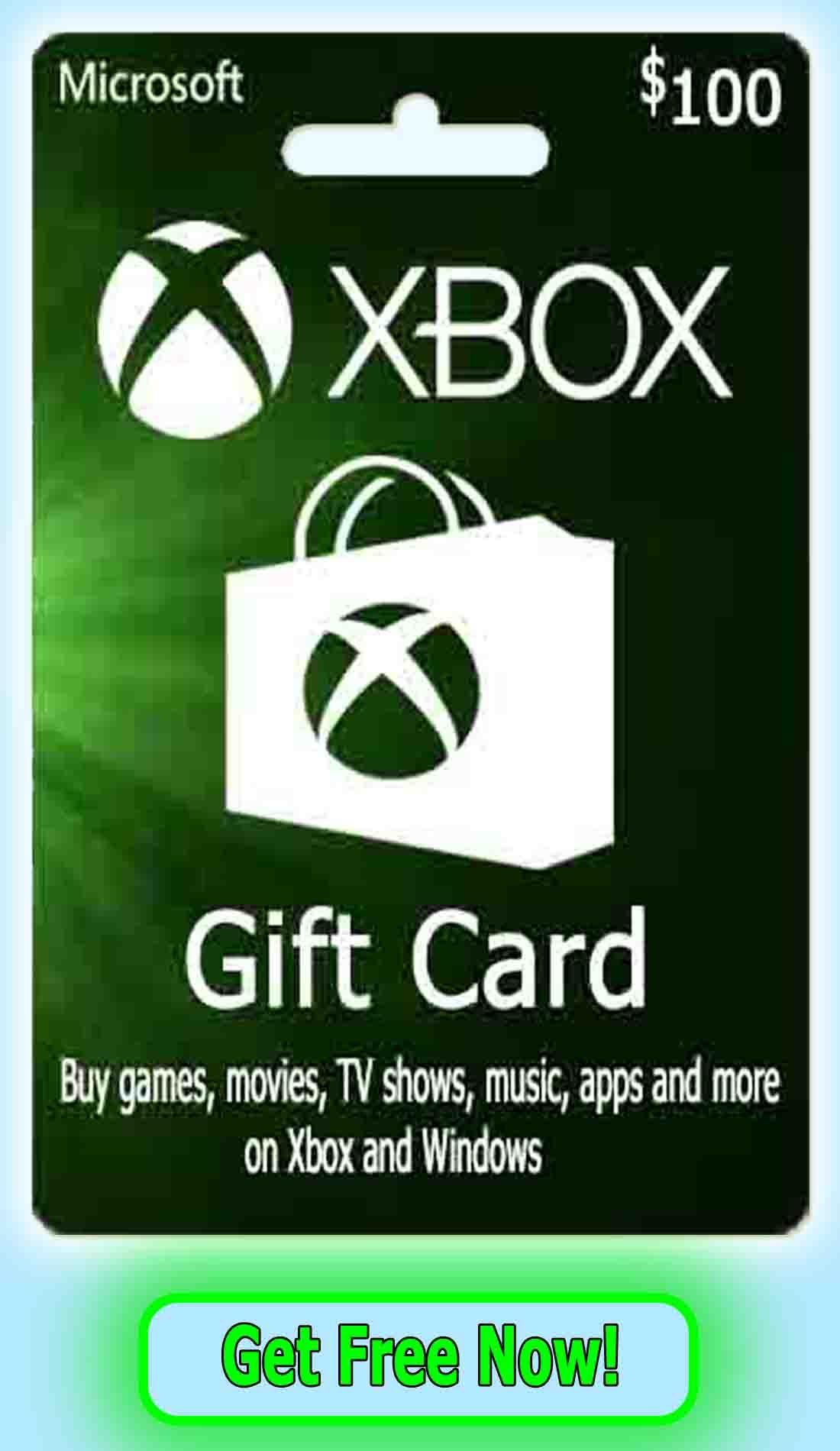 pin on xbox gift card
