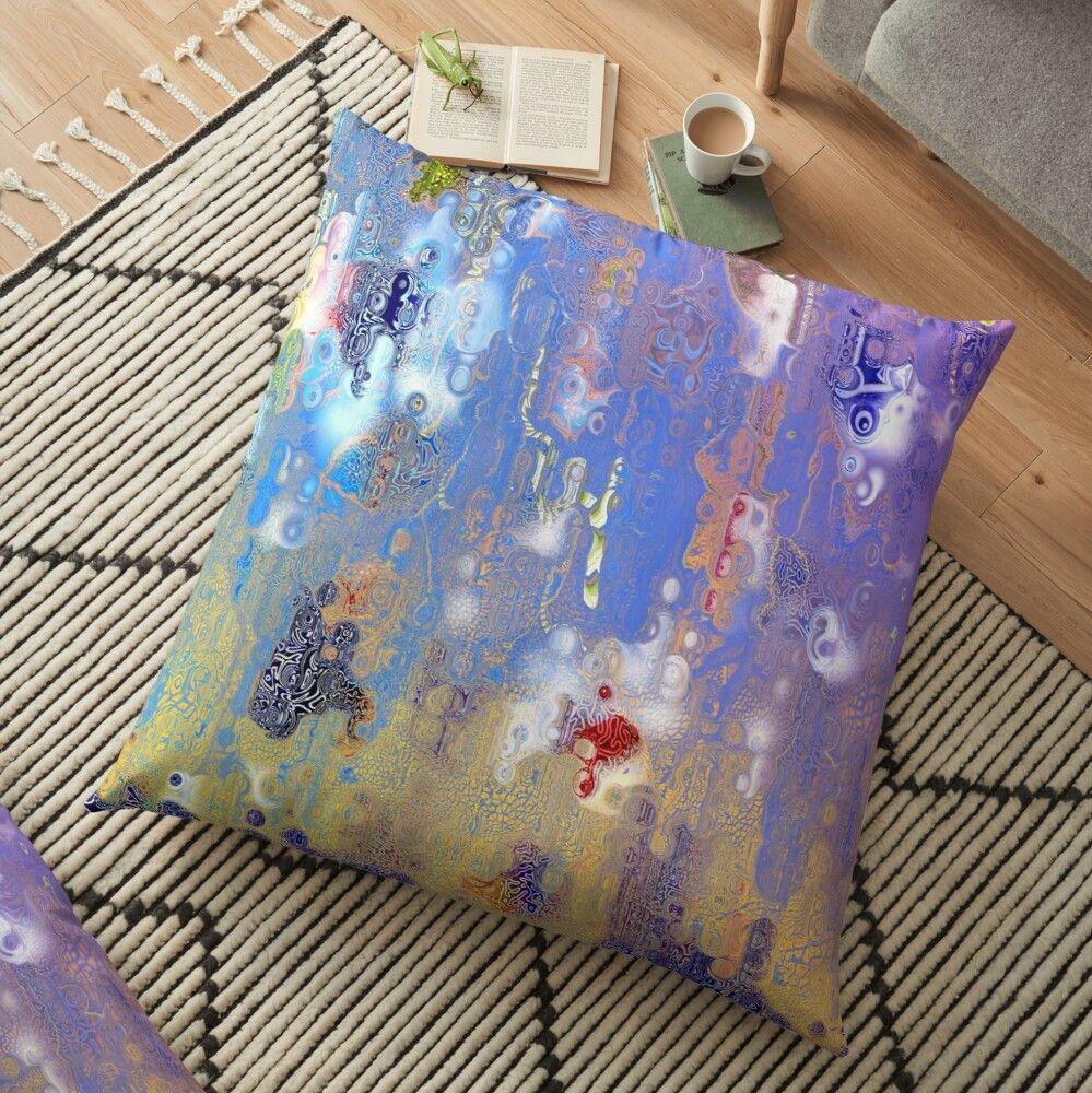 Pattern Oriental Floor Pillow By