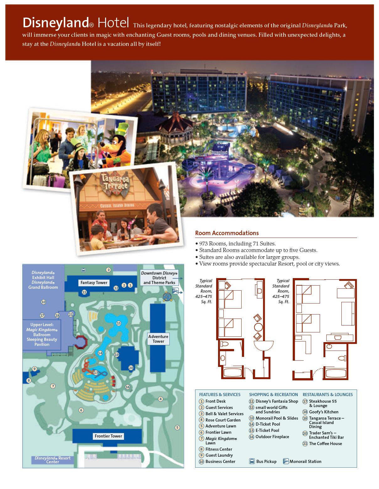 Disneyland Hotel Pg 1 California Guests Will Enjoy This Original