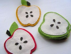Lecker Äpfel im Herbst