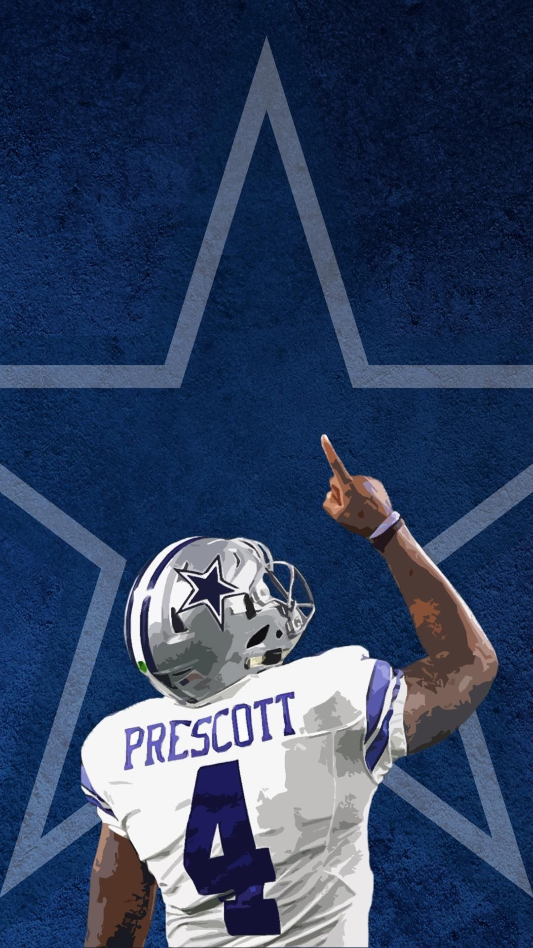 Ezekiel Elliott Dallas Cowboys Wallpaper Home Screen In 2020 With