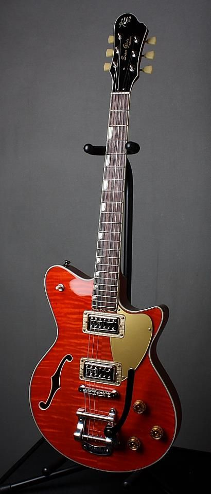 Koll Guitars Super Glide Almighty - Another great guitar built by PBG.