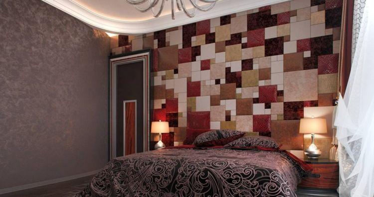 couleur pour chambre moderne, peinture murale gris anthracite