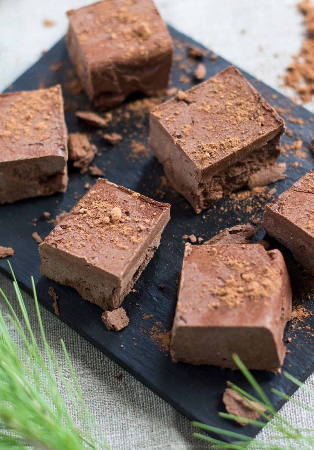 Receita de barrinha de chocolate cremoso