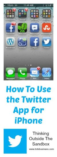 Quick Tip How To Use the Twitter App for iPhone Twitter