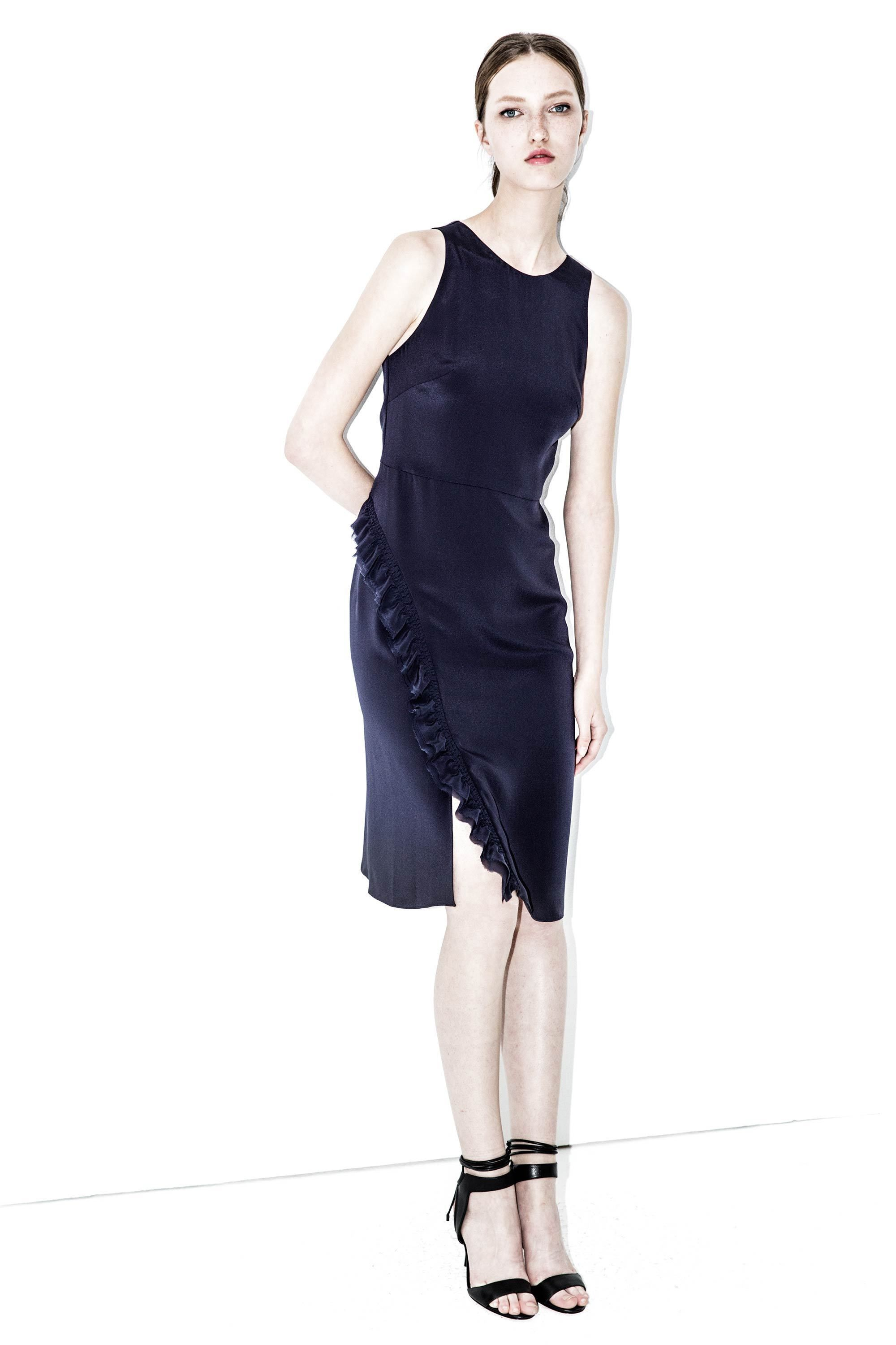 95594b3d6a010a 3.1 PHILLIP LIM Ruffle-front dress - Ink.  3.1philliplim  cloth  all ...