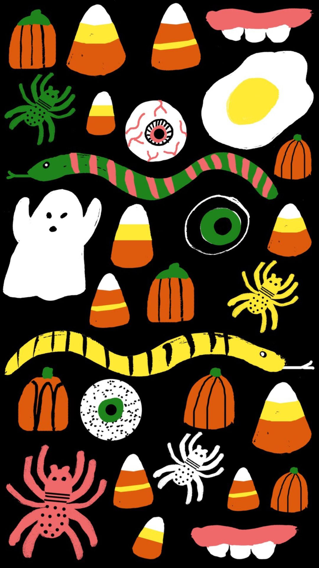 Spooky Pattern Tap to see more creatively spooky