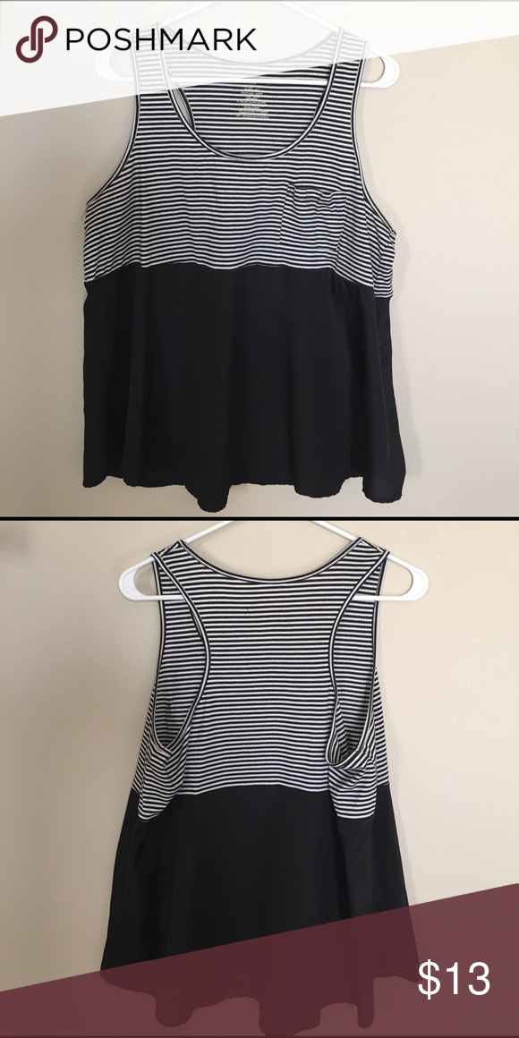 Joe Boxer Tank In good condition. Extremely cute and flattering! Hangs loosely around the stomach area. Can be dressed up or down! Don't miss out on this one! Joe Boxer Tops Tank Tops