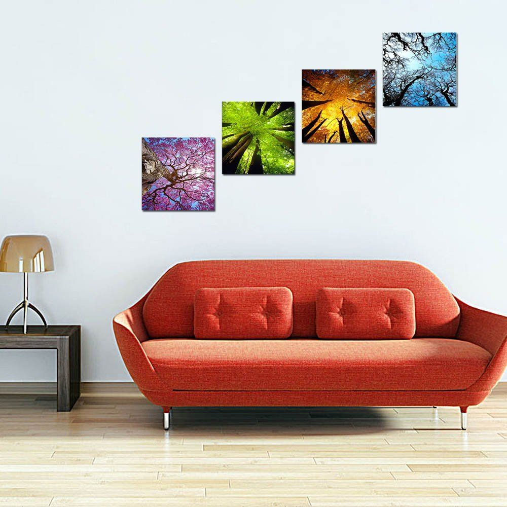 Lky art wall art landscape paintings on canvas wall decal