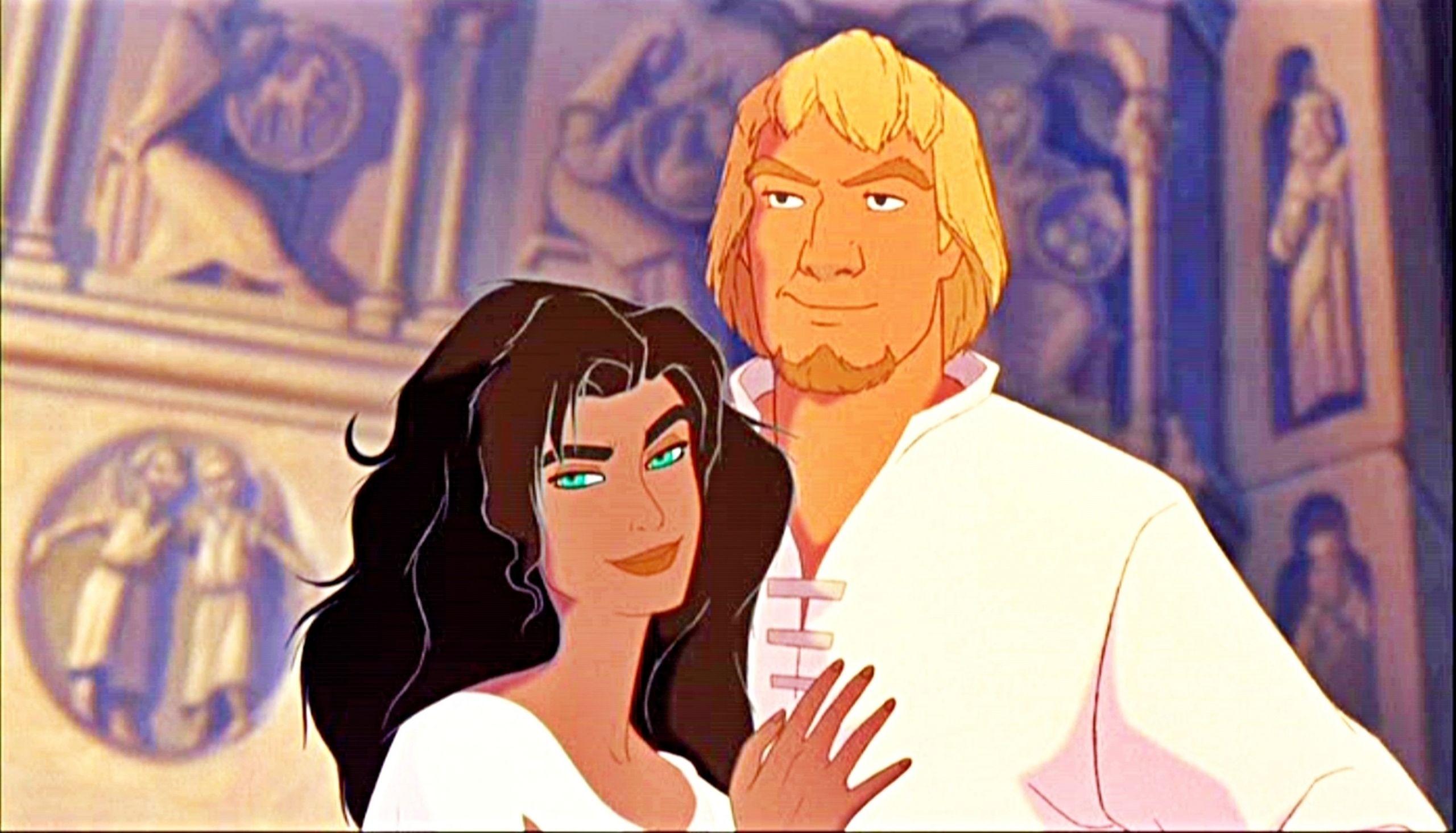 Esmeralda And Phoebus Genderbend