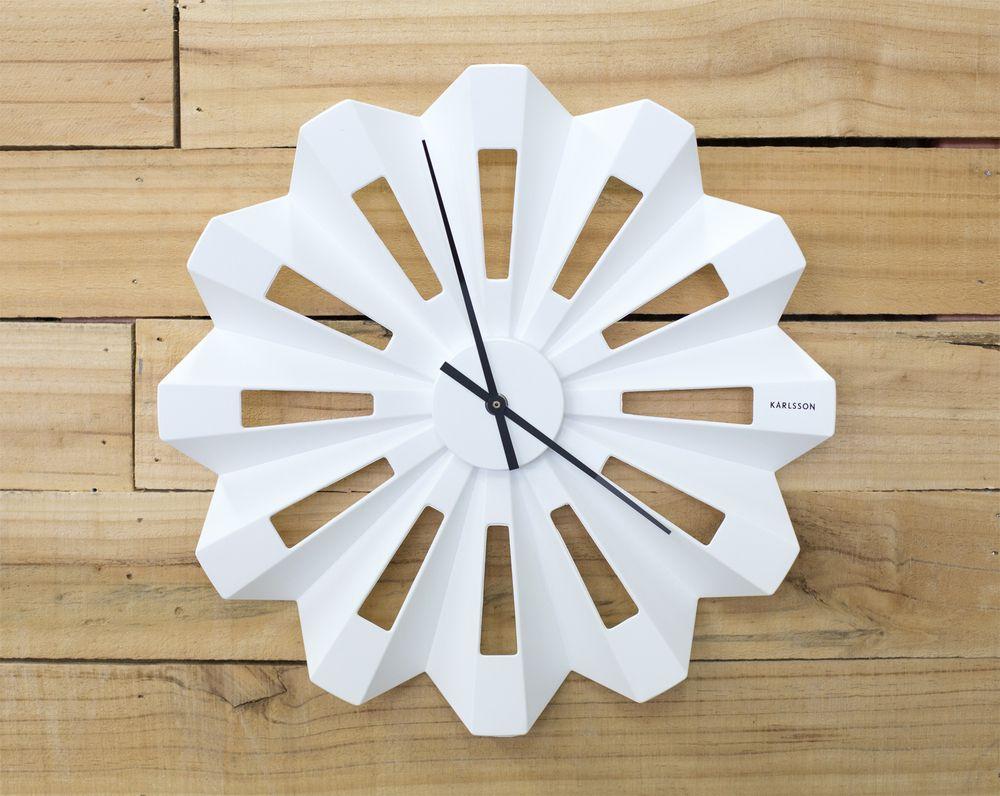Lotus Wall Clock From Karlsson Wall Clock Design Clock Wall