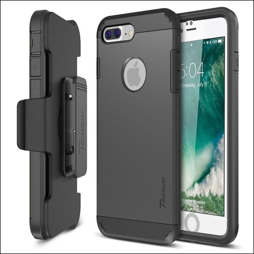 newest collection 32b40 a8b66 Trianium iPhone 7 Plus Kickstand Cases   iPhone X, iPhone 8/8 Plus ...