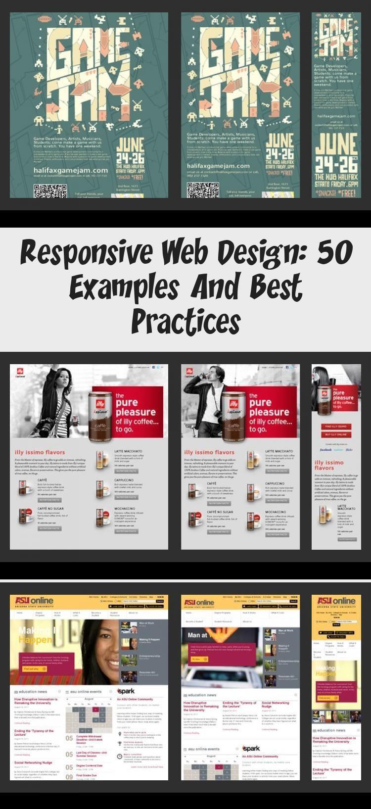 Responsive Web Design 50 Examples And Best Practices Design Design Examples Practices Responsive Web En 2020 Blog