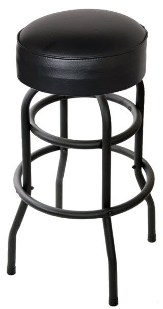 Awe Inspiring Swivel Bar Stool With A Double Ring Bar Stools Swivel Beatyapartments Chair Design Images Beatyapartmentscom