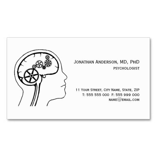 Mental health psychologist business card pinterest business mental health psychologist business card reheart Choice Image