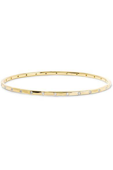 IPPOLITA Senso 18-karat gold diamond bracelet