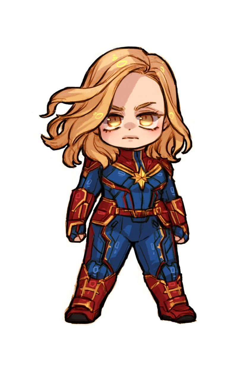 Captain Marvel Carol Danvers For The Love Of Superheros