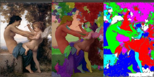 graph watershed segmentation in python with opencv | image