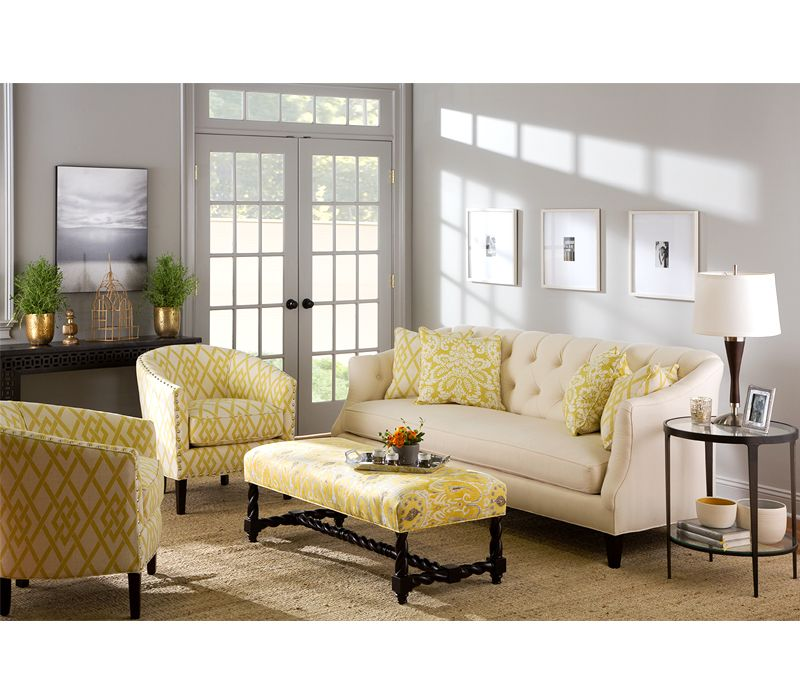 Boston Interiors Camby Sofa And Charlize Chair
