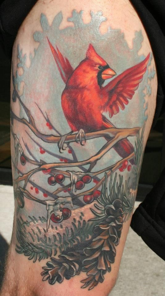 Tribal Cardinal Tattoo Designs Cardinal bird tattoo on ...
