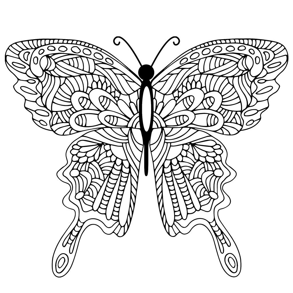 Pin By Angel On C P Butterflies Love Coloring Pages Butterfly Coloring Page Mandala Coloring [ 1024 x 1024 Pixel ]