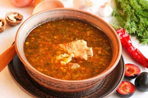 Суп Харчо с курицей - самые лучшие рецепты с фото. Харчо с ...