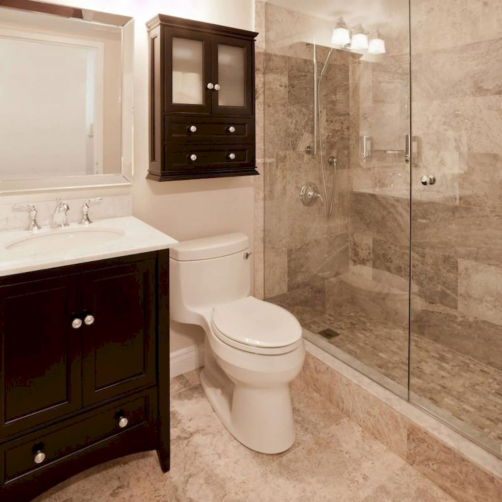 gorgeous small bathroom shower remodel ideas 52  small