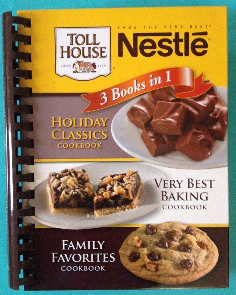 Nestle recipe cookbook 3 in 1 holiday classics family