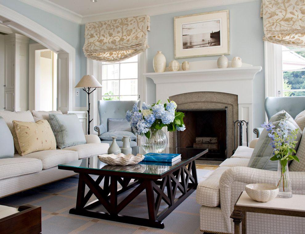 Grey Blue Living Rooms Design Pictures Remodel