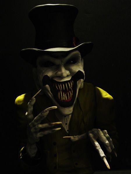 Horror Fantasy Art Ringmaster Horror Clown Statue By - Minecraft horror hauser