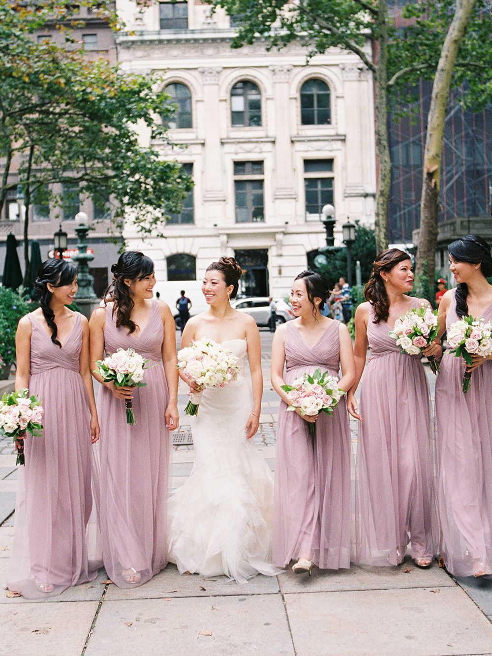 Elegant new york city summer wedding wedding