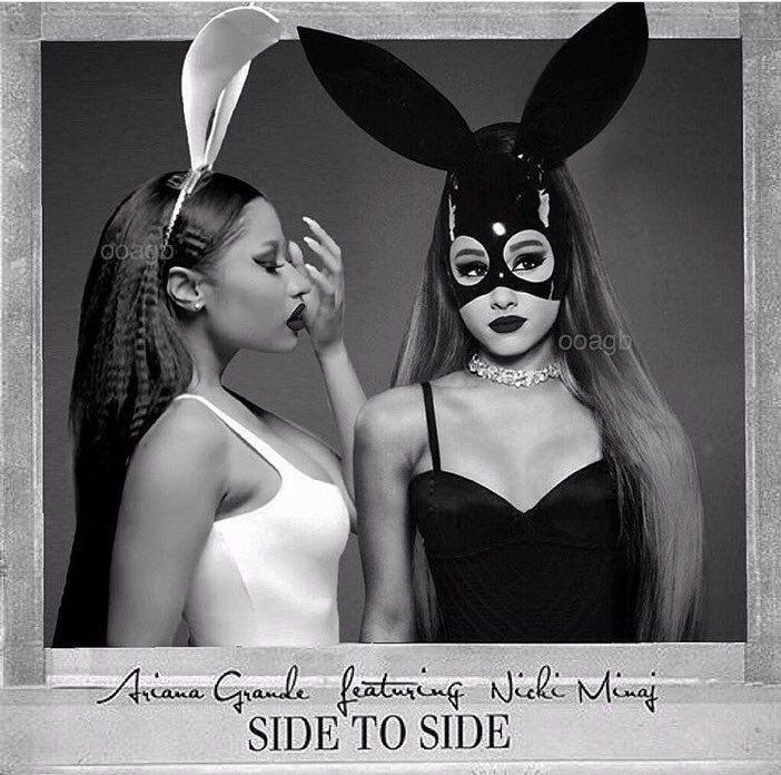 Ariana Grande Arianagrande Nickiminaj Goodlooksserved