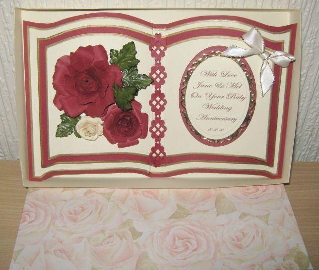 By Sandma. Bookatrix Ruby Wedding