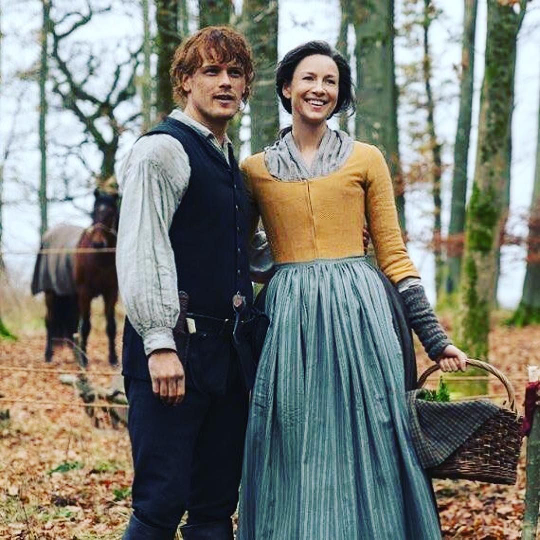 """Outlander Cast on Instagram: """"Picnic anyone? Too cute"""