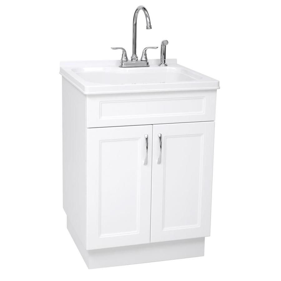 Westinghouse 21 45 In X 24 21 In 1 Basin White Freestanding
