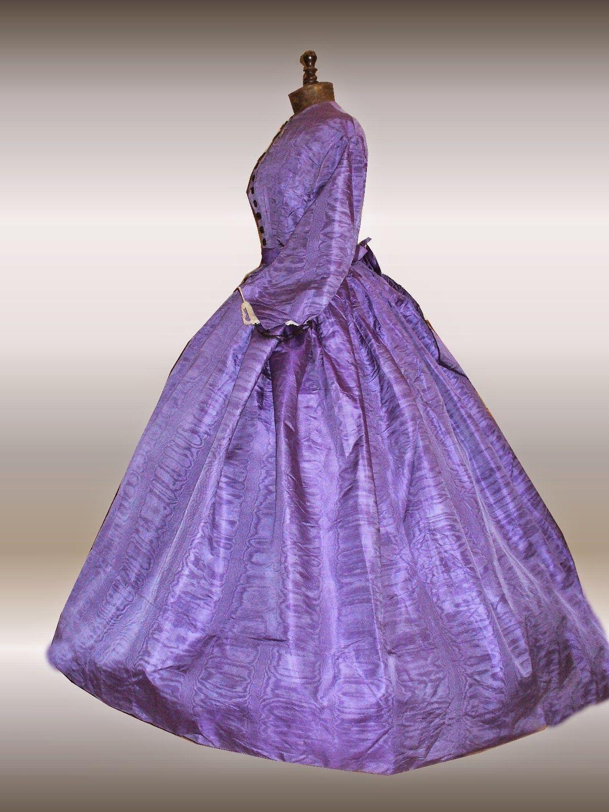 All The Pretty Dresses: 1860's Lavender Colored Dress ...