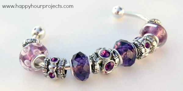 Diy How To Make This Pandora Inspired Bracelet Very Easy Lots Of Pictures Hy Hour Projects