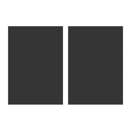 kl tta d corations adh sives tableau noir 50x35 cm 2 pi ces adh sif tableau noir mural et ikea. Black Bedroom Furniture Sets. Home Design Ideas