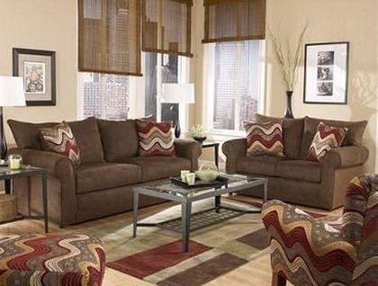 cortinas para sala color beige con naranja - Buscar con Google - colores calidos para salas