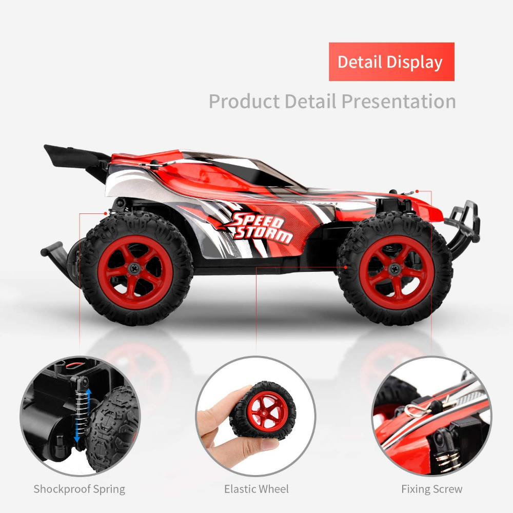 TOYEN RC Cars Off Road Truck Electric Racing Remote