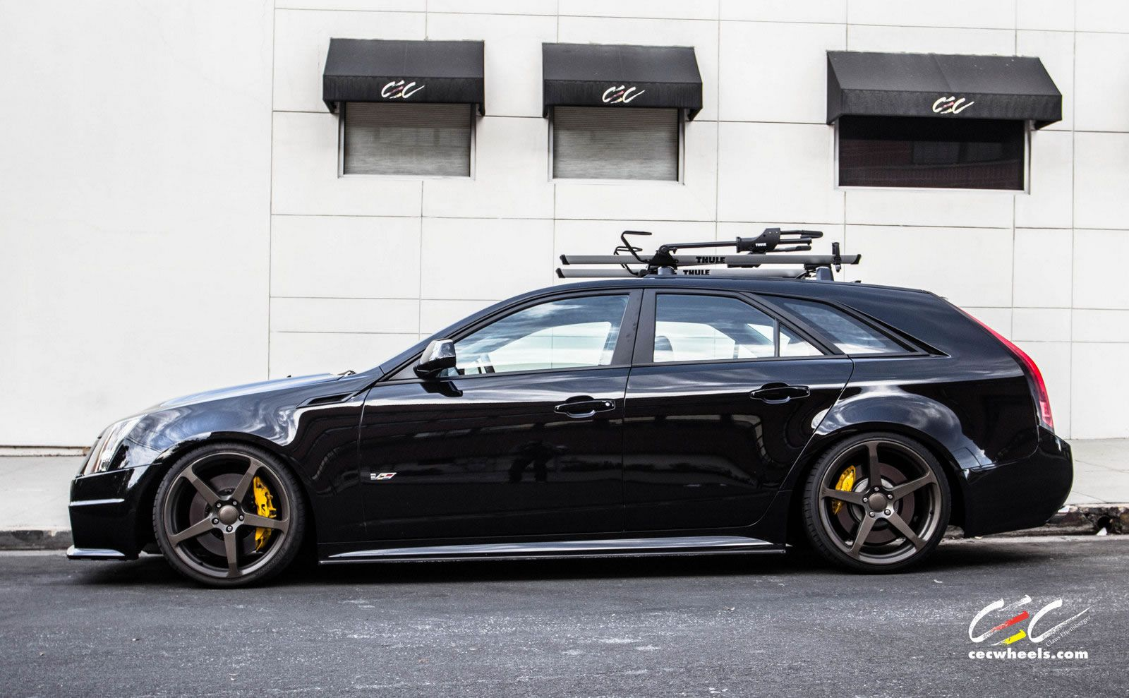 Cadillac Cts V Wagon For Sale >> Cadillac Cts V Wagon With Staggered 20 Hot Rods Cts V Wagon