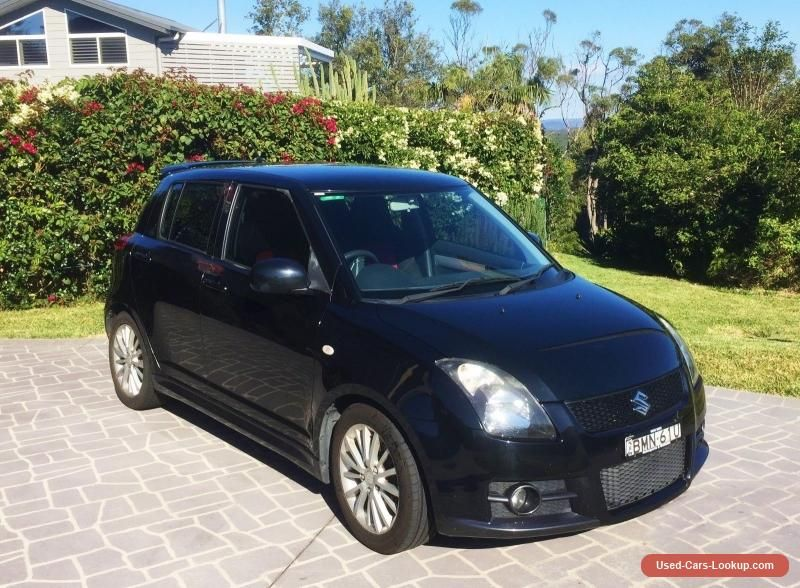 Car for Sale BLACK SUZUKI SWIFT SPORTS CAR 2010 NSW