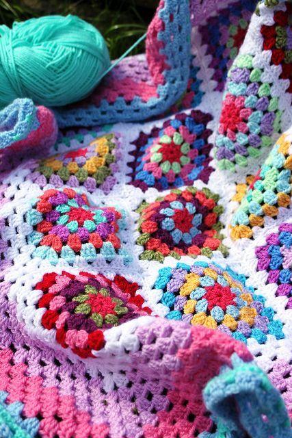 Colour inspiration for blanket