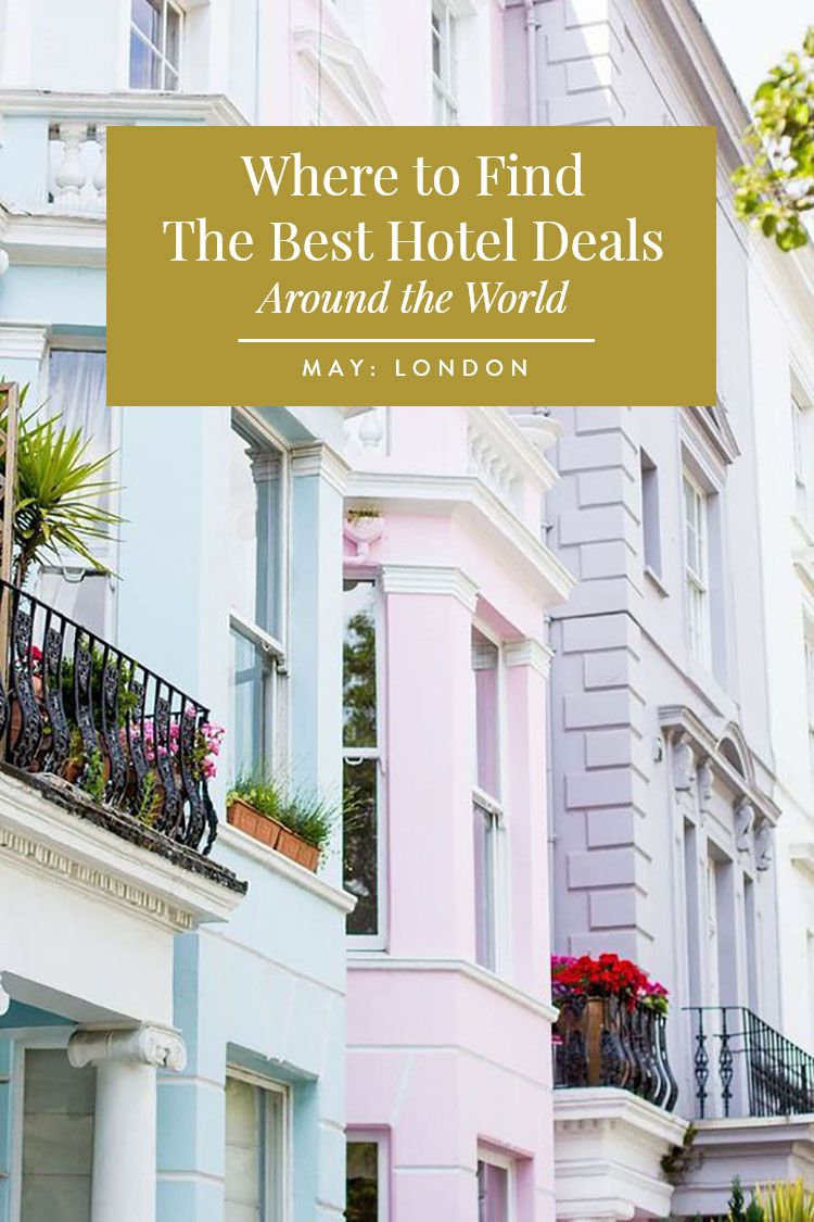 Travel Smart The World S Est Hotel Deals By Month
