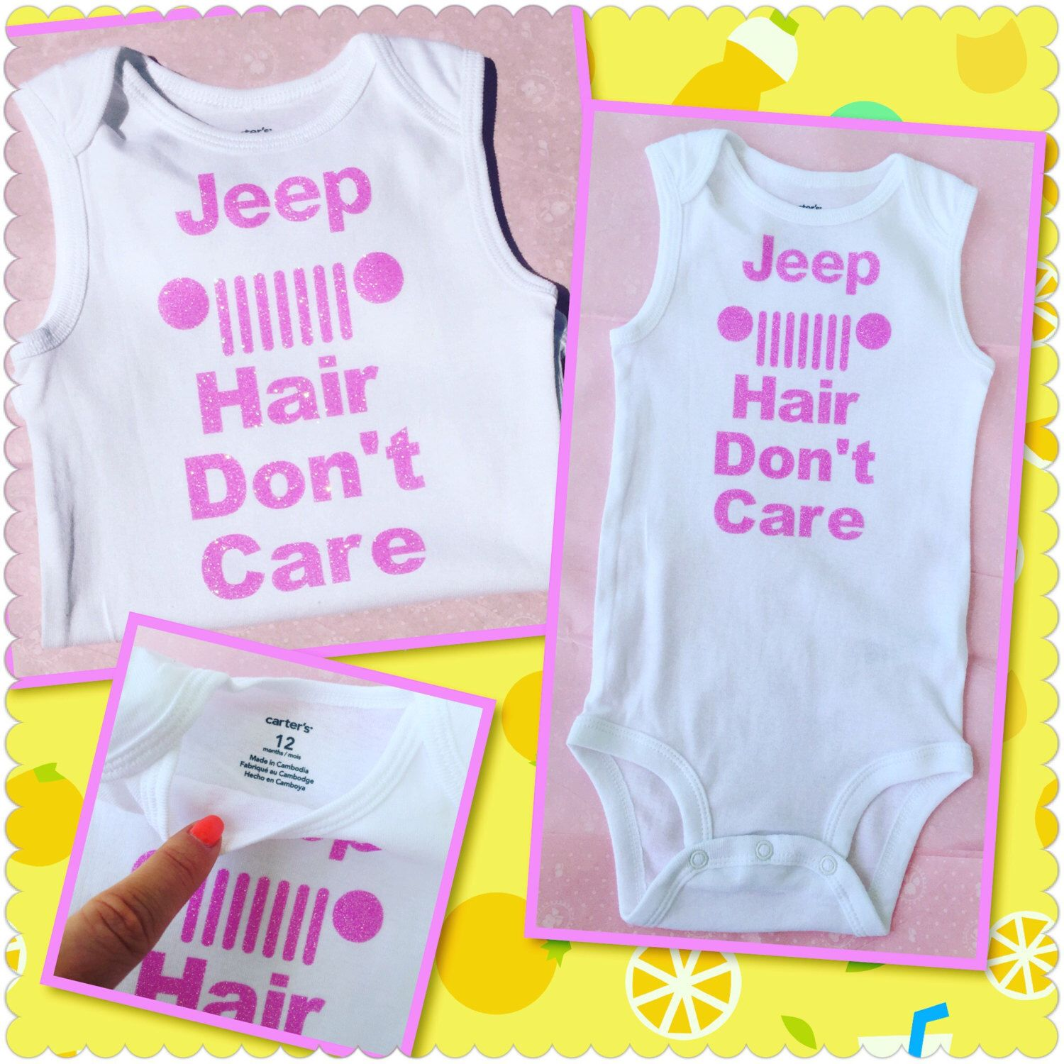 A personal favorite from my Etsy shop https://www.etsy.com/listing/449005368/jeep-hair-dont-care-baby-girl-girls-tank